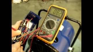 Ремонт обогревателя пушка 3 кВт не включается