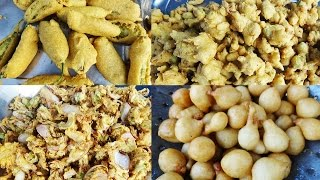 Evening Snacks in Andhra | Evening  Street Food on Indian Roads | Food Videos 2017
