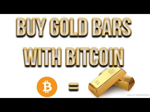Buy GOLD Bars With Bitcoin