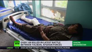 'U.S. Approach Led To Growth Of Terrorism' Afghanistan Faces Suicide Bombings And Taliban Clashes