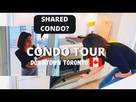 My Condo Tour |Downtown Toronto| New Immigrant in Canada