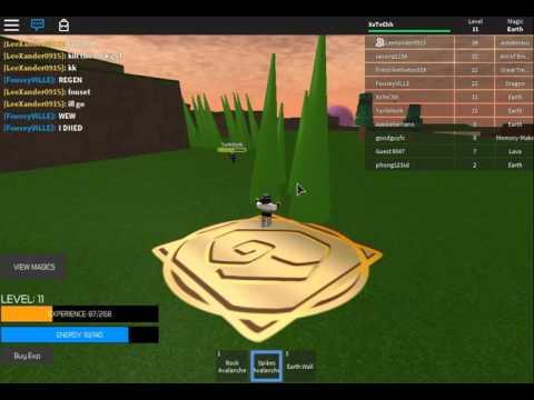 Great Tree Arc Element!!! + Error Code 6 is fixed!! | Roblox ~ Elemental Wars