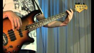 Midnight Oil - Beds Are Burning - Bass Cover