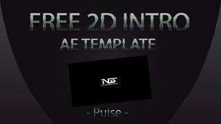 Free 2d intro/promo template AE