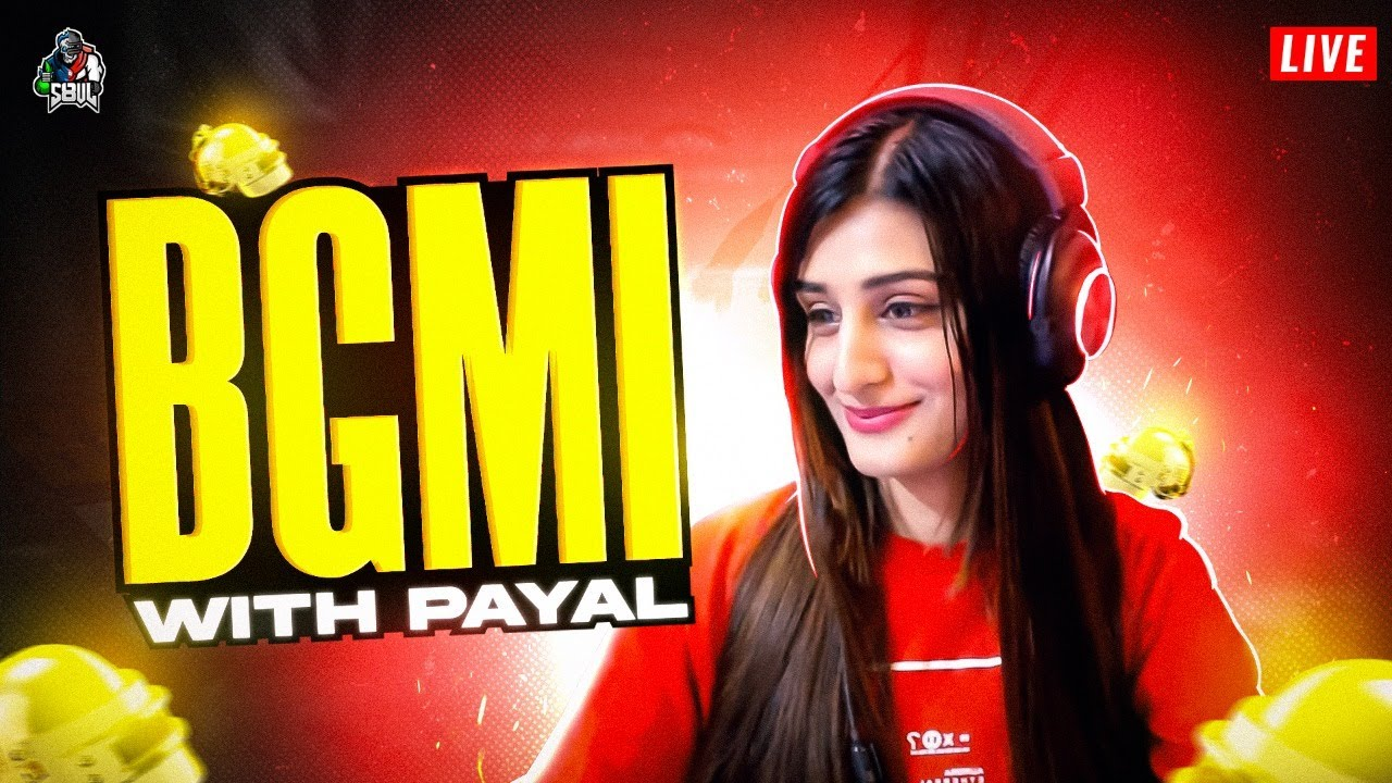 🔥😎 BGMI LIVE with PAYAL GAMING LIVE #s8ul