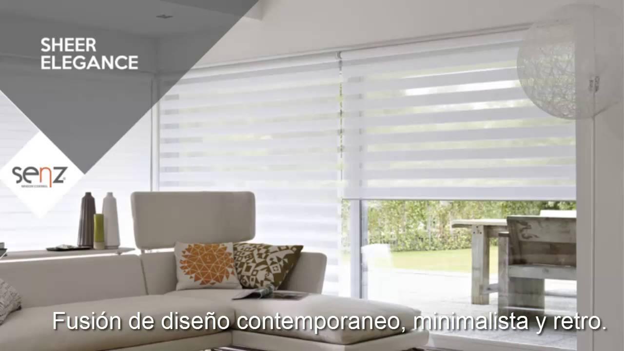Como elegir cortinas tipos de cortinas y persianas sheer for Cortinas de casas modernas