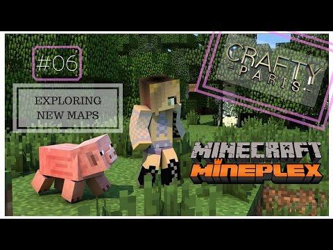 Minecraft Mineplex #06 New Maps Exploration