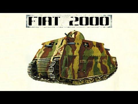 Fiat 2000: первый тяжелый танк Италии [Часть 1/2]