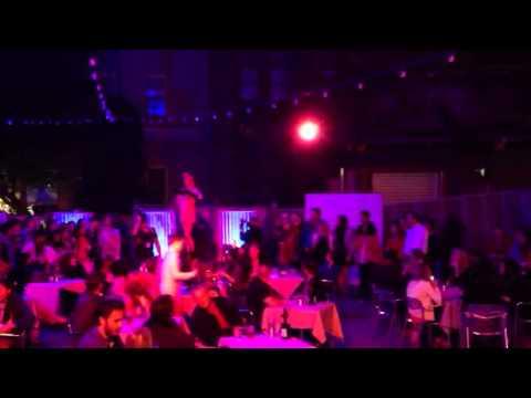 Cabaret show at the Rocks - Sydney Village Bizarre
