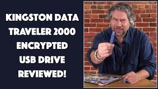 Kingston DataTraveler 2000 Encrypted USB Flash Drive -- REVIEWED!