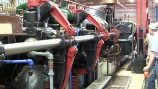 600 hp 140 ton antique engine running 80 rpm 39 000 ft lbs