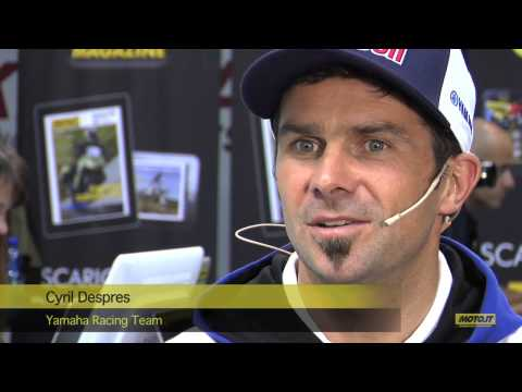 EICMA 2013: Intervista a Cyril Despres - Moto.it