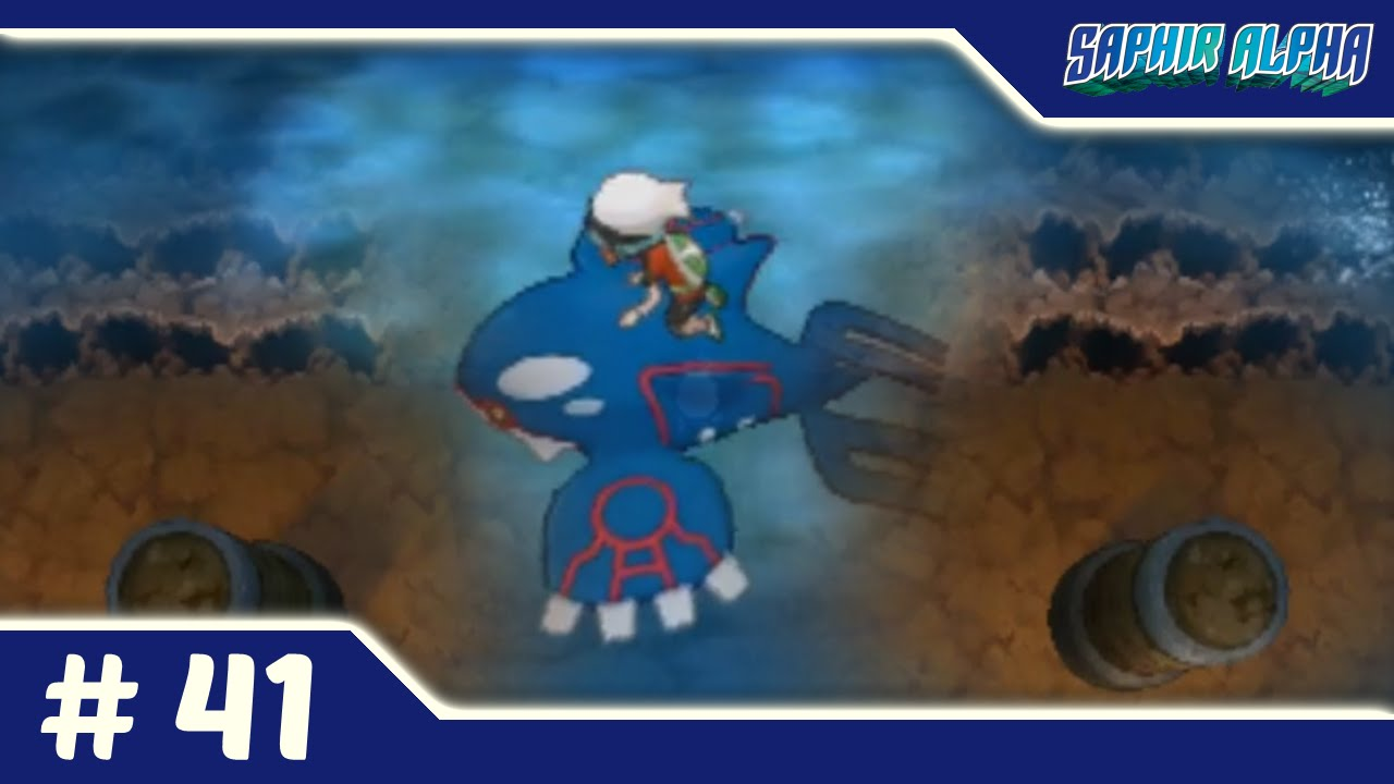 Comment avoir plongée dans pokemon saphir alpha