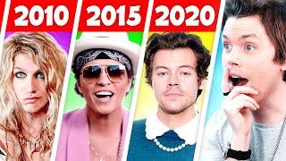 Biggest Hit Songs Each Year (2010  2020)