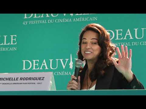 FCAD 2017 : press conference Michelle Rodriguez