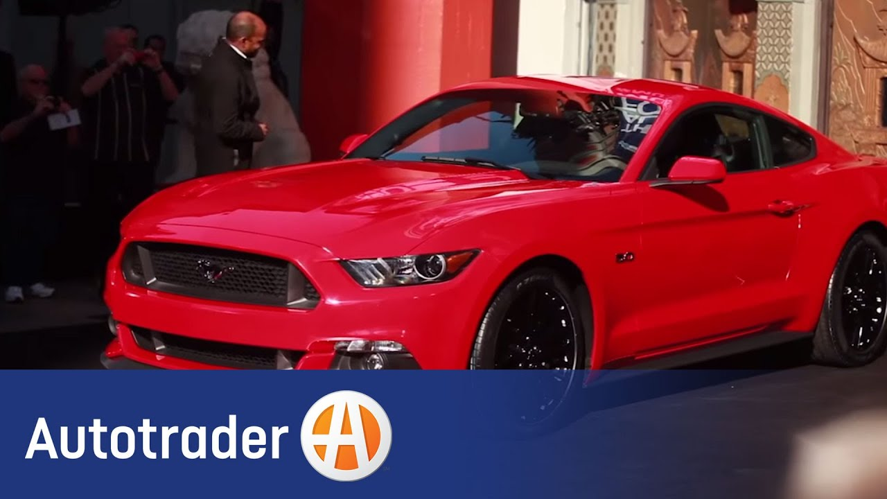 2015 ford mustang coupe first look autotrader