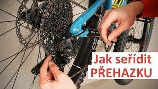 Jak seřídit přehazovačku na kole