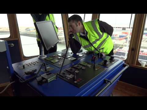 Sea Truck 'Clipper Panaroma' maneuvering in docks from the bridge - Part 2