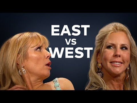 All Star Housewives Battle It Out Against Each Other: East vs. West!