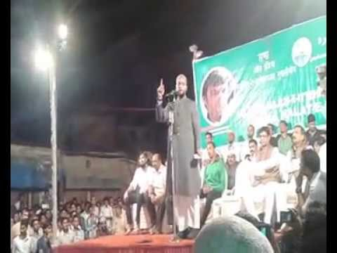 Asaduddin Owaisi Latest Sch at Shivaji Nagar Govandi On 26 Sept 2014 ...