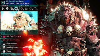 SHADOW OF WAR - NEW HUNTING REINFORCE & AMBUSH OVERLORDS DIFFICULTY NEMESIS IN DESERT