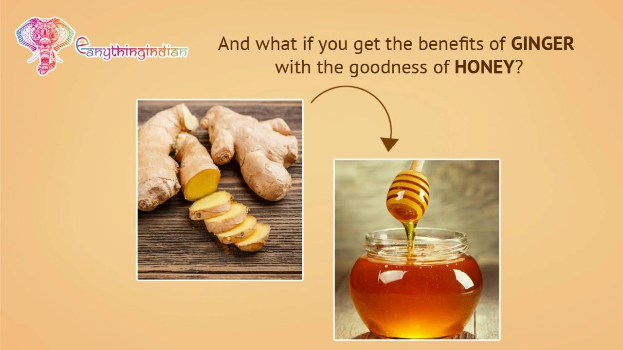 the health benefits of honey & ginger at eanythingindian