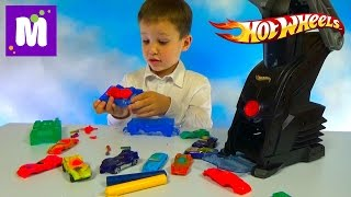 Хот Вилс Карс Мейкер делаем машинки сами на установке для машин Hot Wheels Cars Maker set unboxung