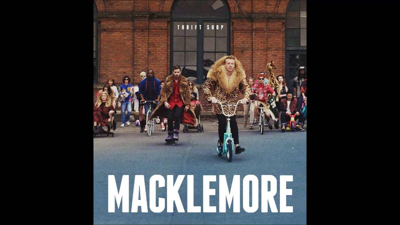 Langspace   [HD] Thrift Shop - Macklemore (Lyrics Included)