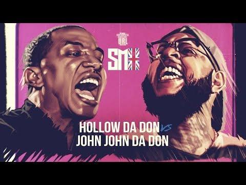 HOLLOW DA DON  VS JOHN JOHN DA DON RAP BATTLE  | URLTV