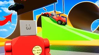 HOT WHEELS RACE TRACKS IN LEGO CITY! - Brick Rigs Multiplayer Gameplay