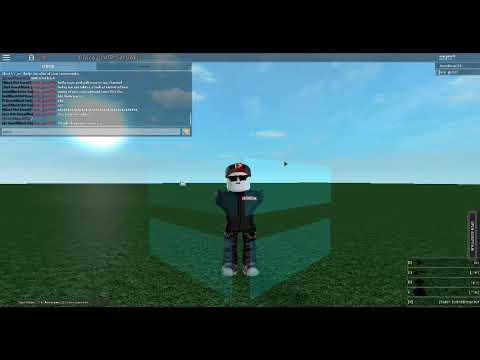 How To Use Roblox Script Server Admin Youtube