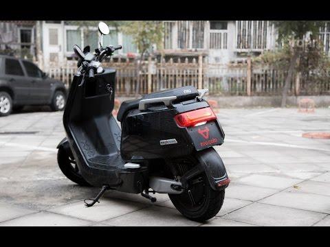 Làm quen xe máy điện BOSCH NIU N1 E-SCOOTER 1200W - PANASONIC 60V26ah đầu tiên về Hà Nội