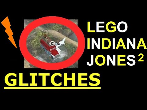 Lego Indiana Jones 2 Flying Car Glitch & Out Of Bounds Glitches