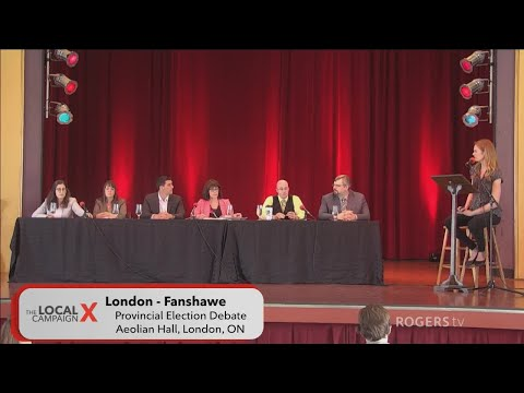 London Fanshawe 2018 Provincial Election Debate