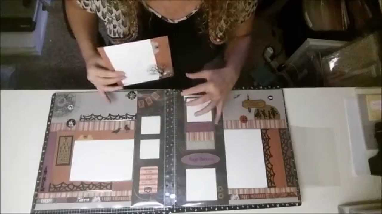 d195544a15c4 How to use 6x6 CTMH Flip Flaps for Scrapbooking - YouTube