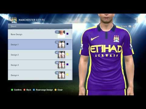 [NEW] PES 2015 - Manchester City FC Kits 2014/15 - YouTube