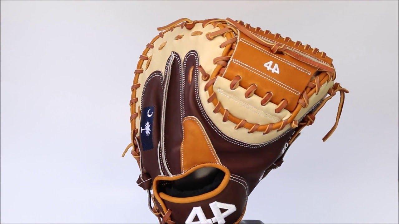 44 Pro Baseball Gloves Signature Series Catchers Mitt Youtube