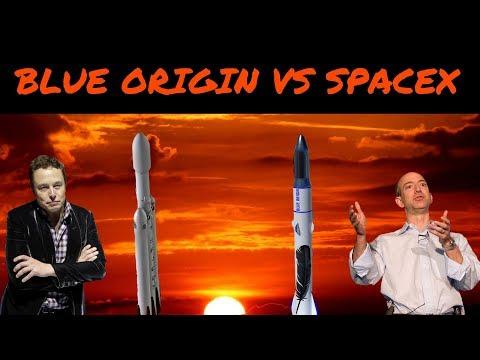 Blue Origin VS SpaceX