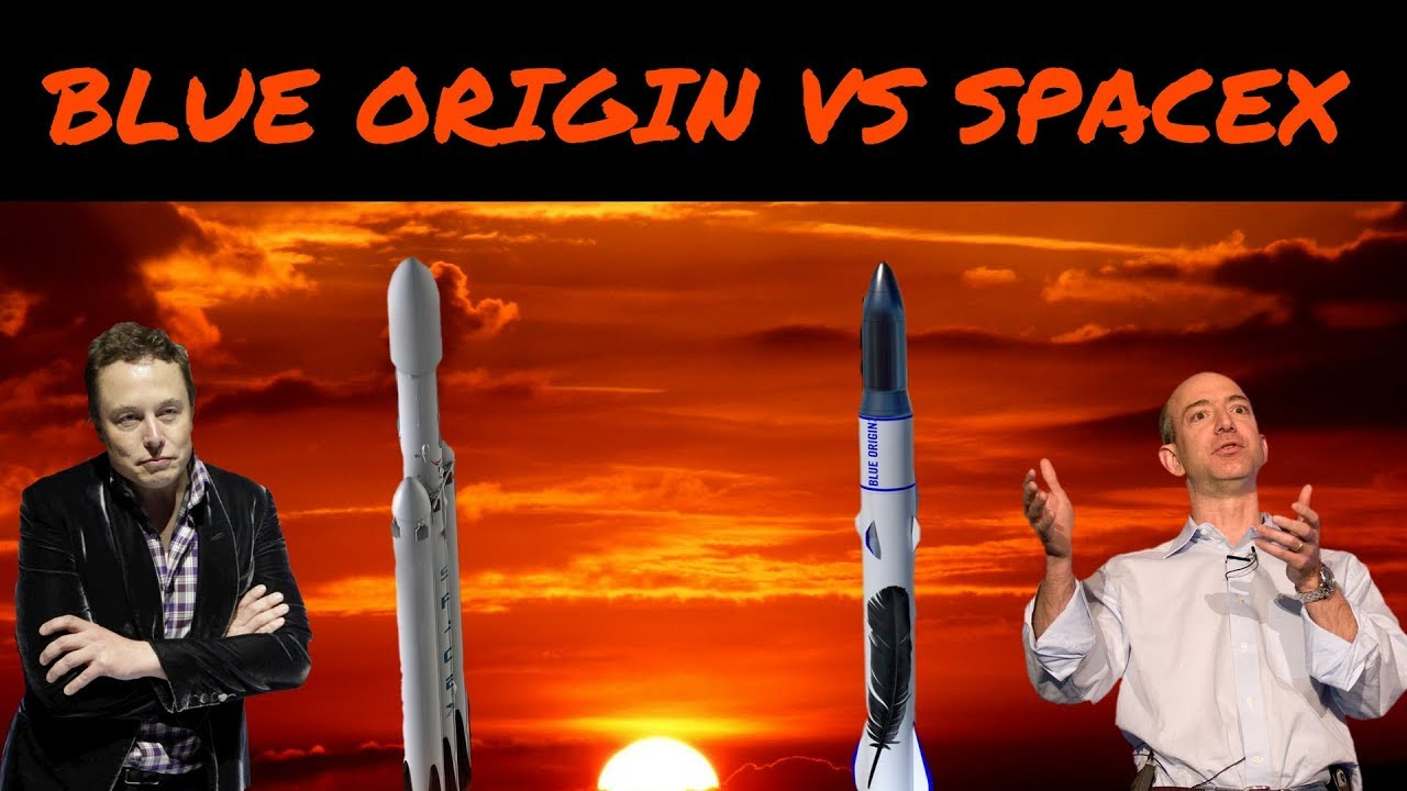 Blue Origin VS SpaceX - YouTube