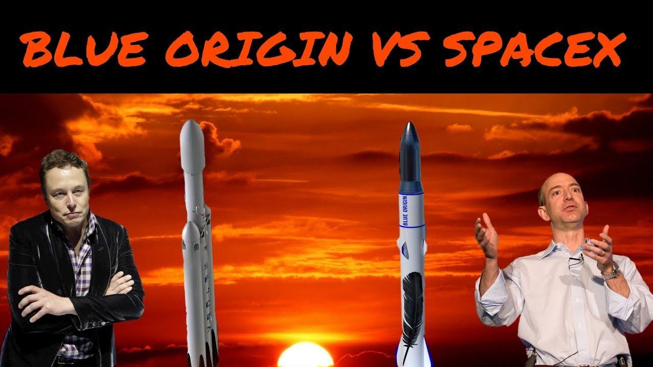 Blue Origin VS SpaceX - YouTube