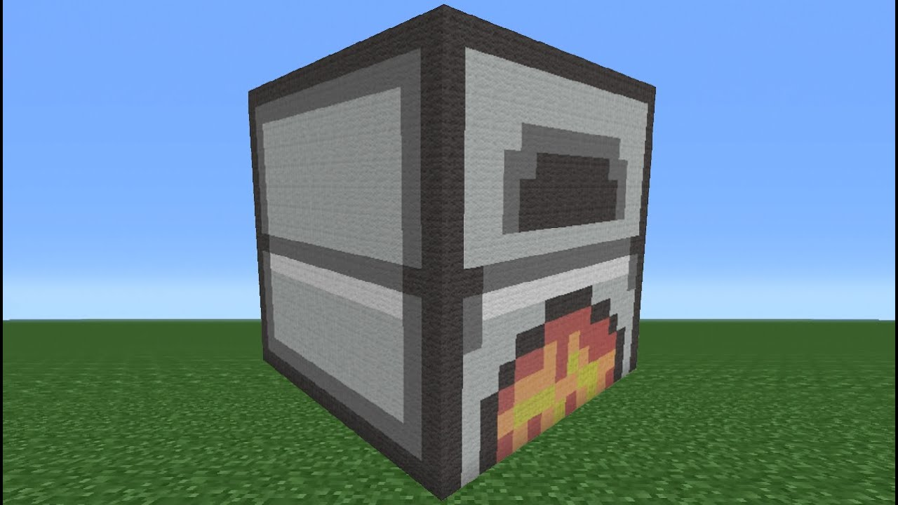 Minecraft Tutorial: How To Make A Furnace - YouTube