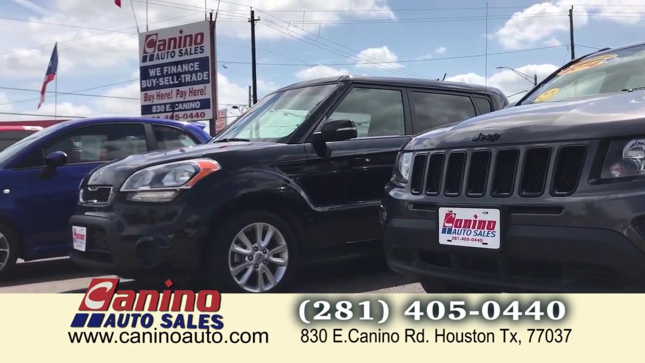 canino auto sales youtube youtube