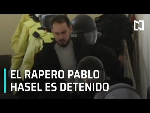 Detienen al rapero Pablo Hasel en España - Despierta