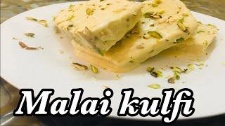 Malai kulfi recipe || Badam Pista Kulfi Recipe