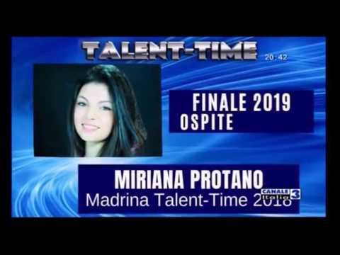 TALENT-TIME 2019-MIRIANA PROTANO