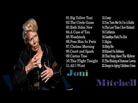 Joni Mitchell Greatest Hits Full Album | Best Songs Of Joni Mitchell