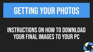 Downloading Final Images