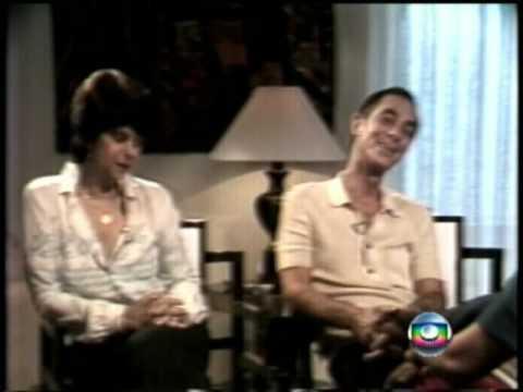 Leda Nagle entrevista Dias Gomes e Janete Clair no Jornal Hoje