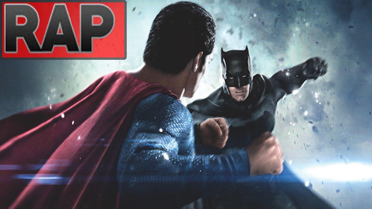 Rap Do Batman Vs Superman A Origem Da Justica Batalha De Rap