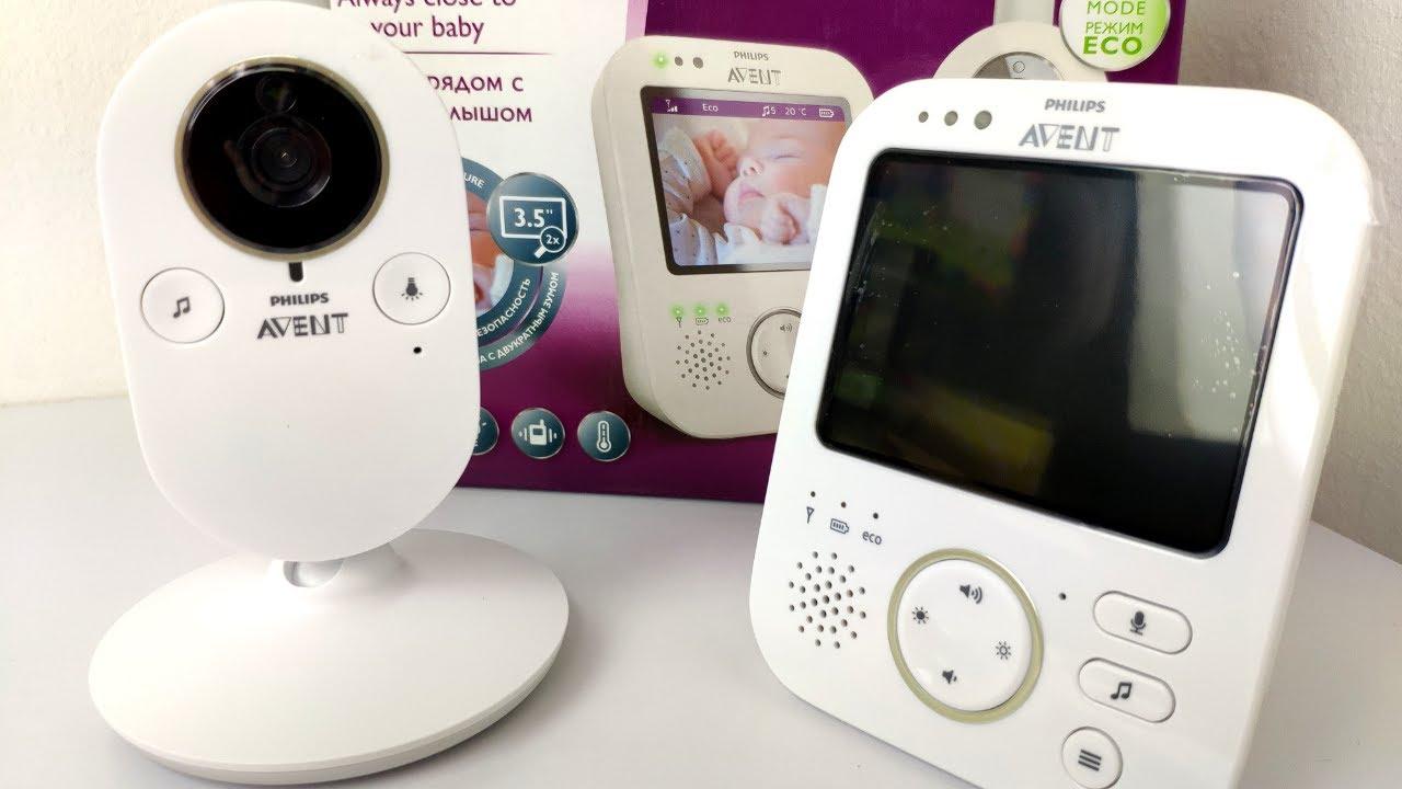 a54a91cd6 👶📹 Philips Avent detská video pestúnka SCD630 (rozbaľovanie ...